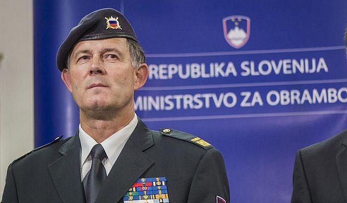 Smena načelnika generalštaba Slovenije zbog loše vojne vežbe