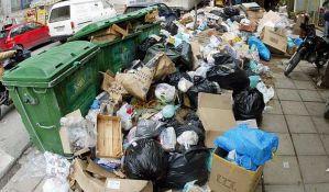 Štrajk grčkih đubretara, gradovi zatrpani smećem