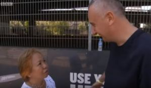 VIDEO: Branislav Lukić heroj u Londonu, spasao ženu iz solitera koji je goreo