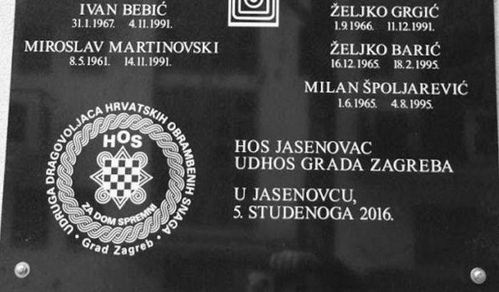 Načelnica Jasenovca: Šta je sporno u natpisu