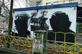 Stariji bračni par povređen tokom uništavanja murala u Beogradu