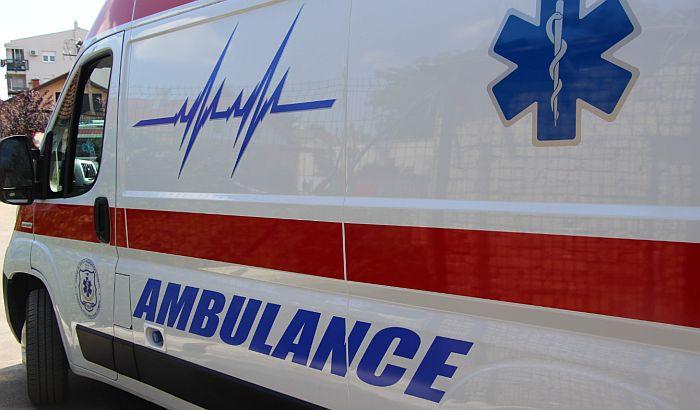 Poginuo vozač u sudaru automobila i kamiona u Industrijskoj zoni