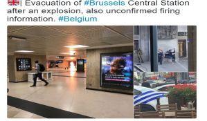 Eksplozija na glavnoj železničkoj stanici u Briselu