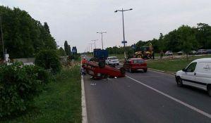 Četiri osobe povređene u četiri udesa