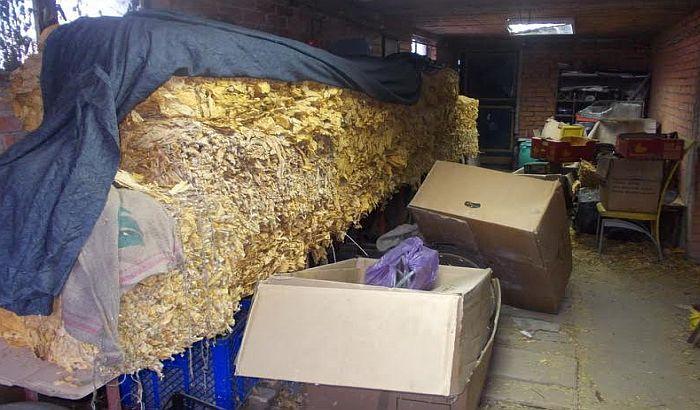 FOTO: Zaplenjeno preko 845 kilograma duvana u Sremskim Karlovcima