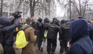 Preko 400 osoba uhapšeno na demonstracijama u Minsku