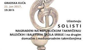 Humanitarni koncert povodom Svetskog Dana muzike 21. juna