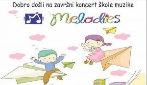 Završni koncert škole muzike Melodies 20. juna
