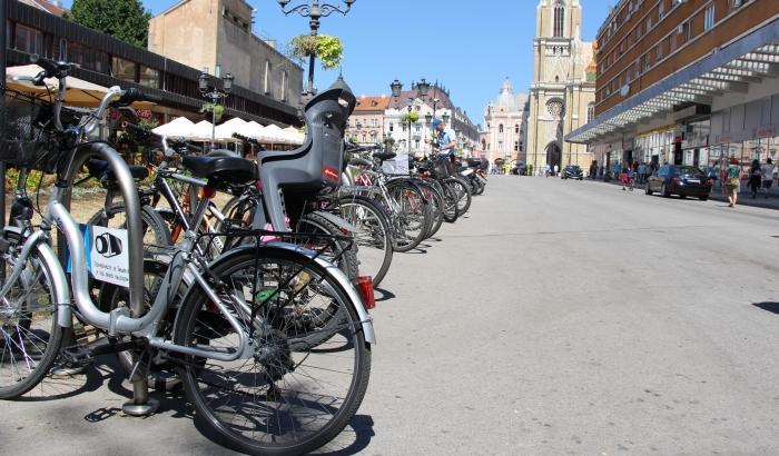 Biciklisti i penzioneri najranjiviji u saobraćaju u Novom Sadu