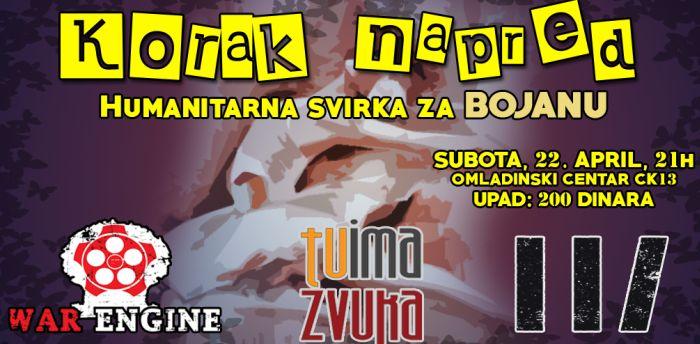 Humanitarni koncert novosadskih bendova u subotu u CK13