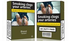 Sve cigarete u Britaniji od sutra u istim paklicama