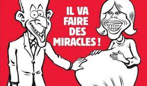 Kritike listu Šarli ebdo zbog karikature Makronove žene