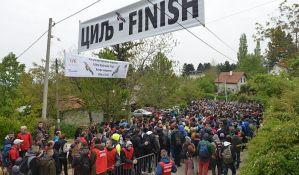 FOTO: Počeo 40. Fruškogorski maraton i pored preporuke da se odloži zbog bezbednosti