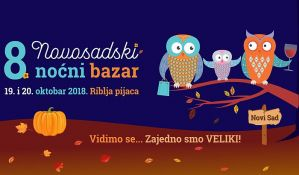 Novosadski noćni bazar i Sajam mladih poljoprivrednika 19. i 20. oktobra na Ribljoj pijaci