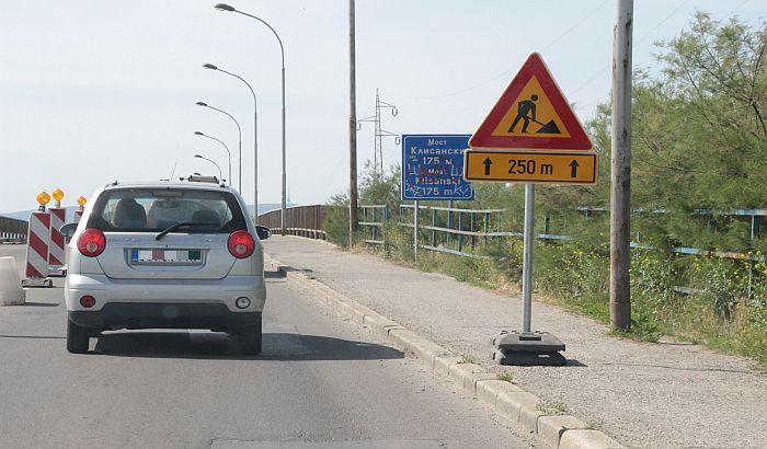 Popravka Sentandrejskog mosta do 14. novembra