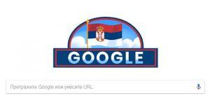 Gugl u znaku Dana državnosti Srbije