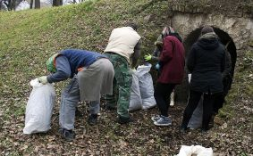 Novosađani u nedelju nastavljaju čišćenje Petrovaradinske tvrđave