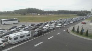 Saobraćaj se normalizuje, ali je i dalje gužva na Horgošu