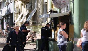 FOTO: Masovna kafanska tuča na Trgu mladenaca, intervenisale hitna pomoć i policija