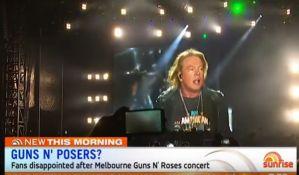 VIDEO: Ljuti fanovi Gansa, bend u Melburnu pozdravio Sidnej