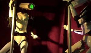 Roboti striptizete atrakcija u Las Vegasu