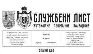 Više se ne prevodi ceo Službeni list AP Vojvodine na jezike nacionalnih manjina