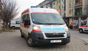 Motociklista povređen na Bulevaru Evrope