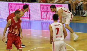 Poraz košarkaša Vojvodine na gostovanju Dinamiku