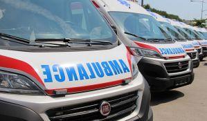 Pešak teško povređen u udesu na Detelinari