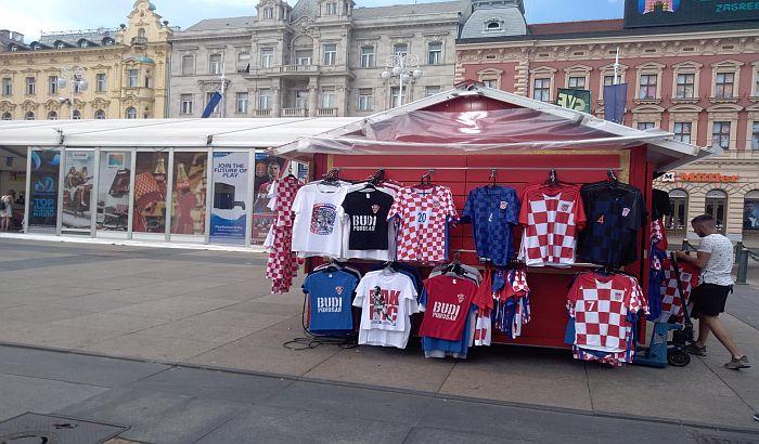 Zbog utakmice Hrvatske i Engleske sve staje u hrvatskim gradovima