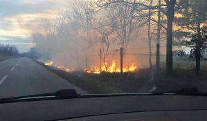 FOTO: I dalje bukte požari oko Novog Sada, građani gluvi na apele