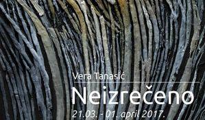 Izložba Vere Tanasić od utorka u SULUV