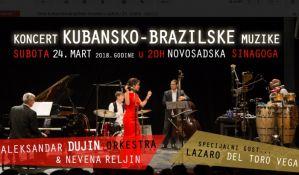 Veče kubanske i brazilske muzike u subotu u Sinagogi