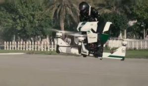 VIDEO: Policija u Dubaiju testira leteće motore