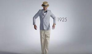 VIDEO: Kako su se muškarci oblačili u poslednjih 100 godina