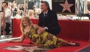 Goldi Hon i Kurt Rasel dobili zvezde na Stazi slavnih