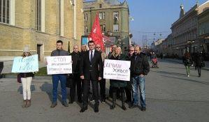 Dveri: Umesto za kićenje Novog Sada, novac trebalo dati u humanitarne svrhe