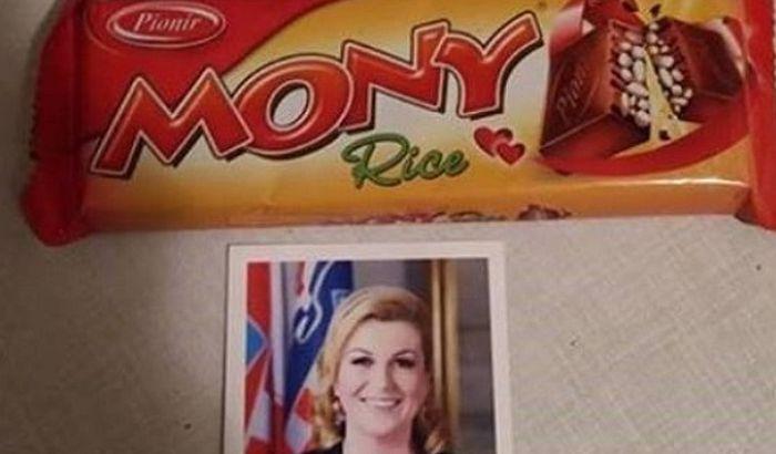 Hrvatska predsednica se izvinjava zbog srpskih čokoladica