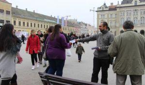 FOTO: Grupa za slobodu medija na ulicama pet gradova