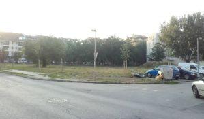 FOTO: Zelena površina na Novom naselju nije ono što su građani očekivali