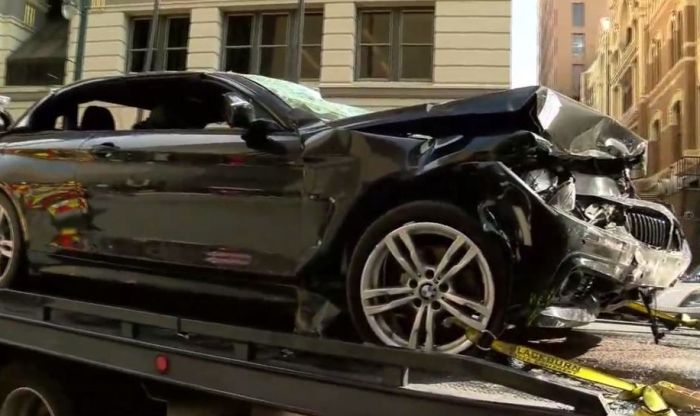 VIDEO: Preživela pad automobilom sa sedmog sprata
