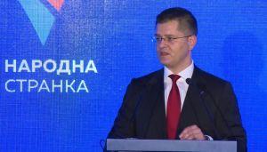 Jeremić jednoglasno izabran za predsednika Narodne stranke