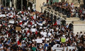 VIDEO: Hiljade Maltežana protestovalo zbog ubistva novinarke