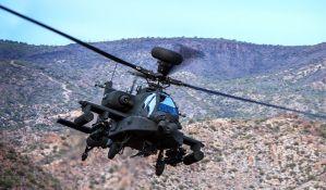 Srušio se američki vojni helikopter, dvojica vojnika poginula