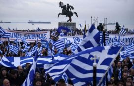 VIDEO: Više od 300.000 ljudi protestuje u Solunu zbog naziva