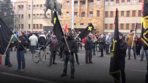 VIDEO: Protest u Skoplju zbog promene imena Makedonija, zapaljena zastava EU