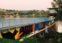 FOTO: Počelo oslikavanje reni bunara muralima