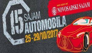 Sajam automobila u Novom Sadu  od 25. do 29. oktobra