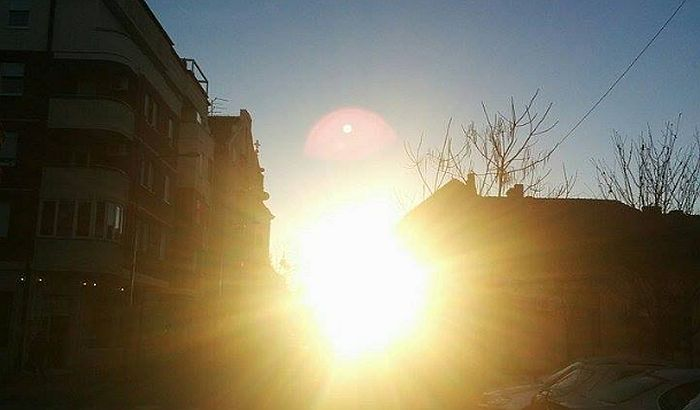 Cele nedelje sunčano i toplo