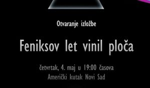 Izložba Feniksov let vinil ploča 4. maja u Američkom kutku